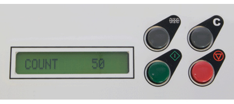 Formax FD 300 Resettable LCD Counter